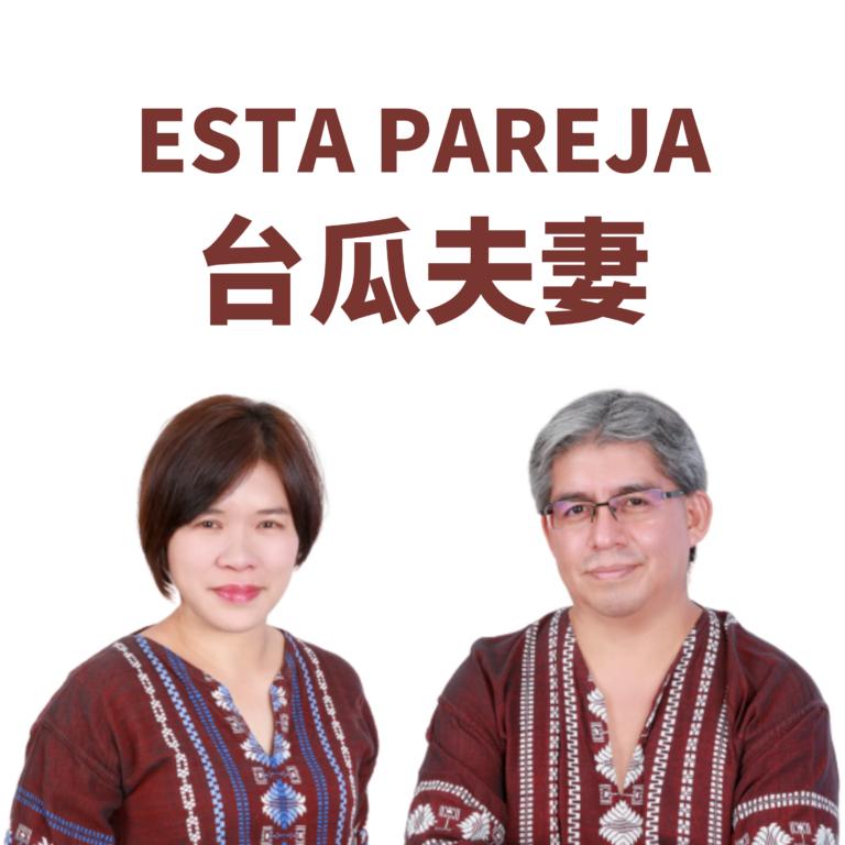 Esta pareja 台瓜夫妻